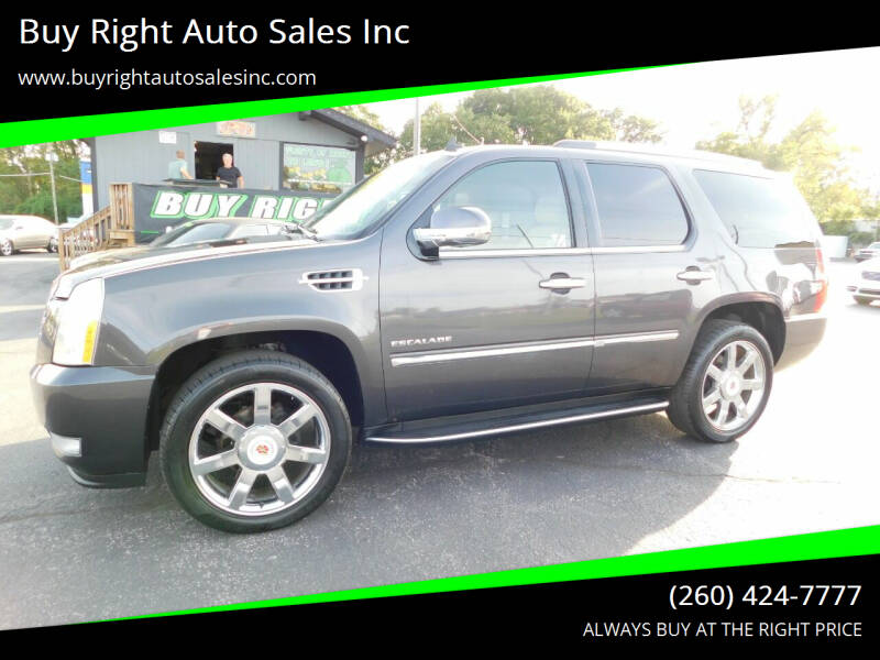 2010 Cadillac Escalade for sale at Buy Right Auto Sales Inc in Fort Wayne IN