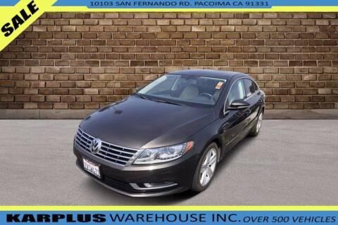 2015 Volkswagen CC for sale at Karplus Warehouse in Pacoima CA