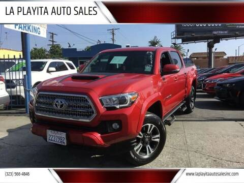 2016 Toyota Tacoma for sale at LA PLAYITA AUTO SALES INC in South Gate CA
