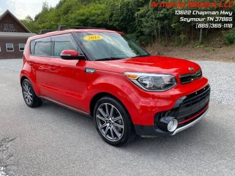 2018 Kia Soul for sale at Armenia Motors in Seymour TN