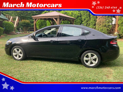 2016 Dodge Dart for sale at March Motorcars in Lexington NC