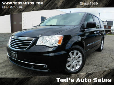 2015 Chrysler Town and Country for sale at Ted's Auto Sales in Louisville OH