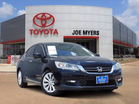 2015 Honda Accord for sale at Joe Myers Toyota PreOwned in Houston TX