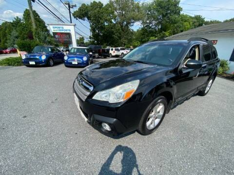 2014 Subaru Outback for sale at Sports & Imports in Pasadena MD