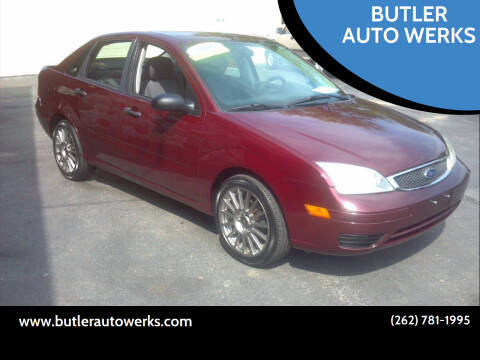 2006 Ford Focus for sale at BUTLER AUTO WERKS in Butler WI