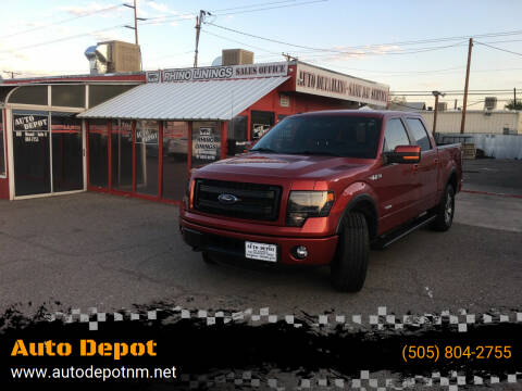 2014 Ford F-150 for sale at Auto Depot in Albuquerque NM