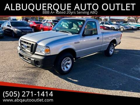 2011 Ford Ranger for sale at ALBUQUERQUE AUTO OUTLET in Albuquerque NM