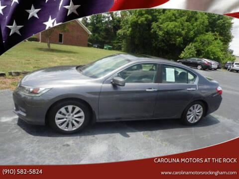 2014 Honda Accord for sale at Carolina Motors at the Rock in Rockingham NC