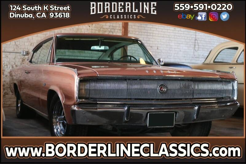 1967 Dodge Charger for sale at Borderline Classics in Dinuba CA