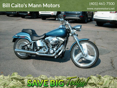 2002 Harley-Davidson FXSTDI-DEUCE for sale at Bill Caito's Mann Motors in Warwick RI