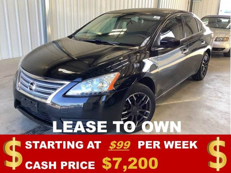 2014 Nissan Sentra for sale at Auto Mart USA in Kansas City MO