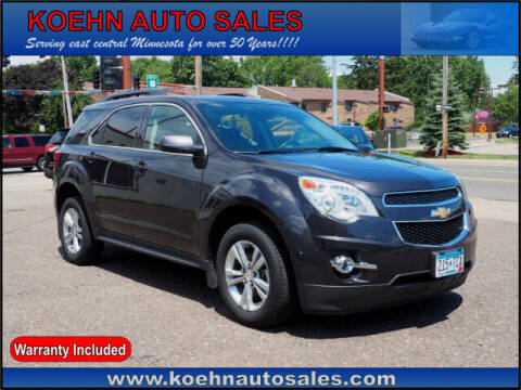 2015 Chevrolet Equinox for sale at Koehn Auto Sales in Lindstrom MN