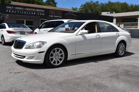 2007 Mercedes-Benz S-Class for sale at DeWitt Motor Sales in Sarasota FL