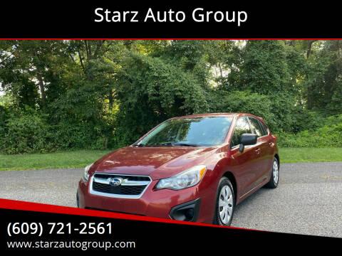 2012 Subaru Impreza for sale at Starz Auto Group in Delran NJ