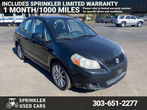 2009 Suzuki SX4 for sale at Sprinkler Used Cars in Longmont CO