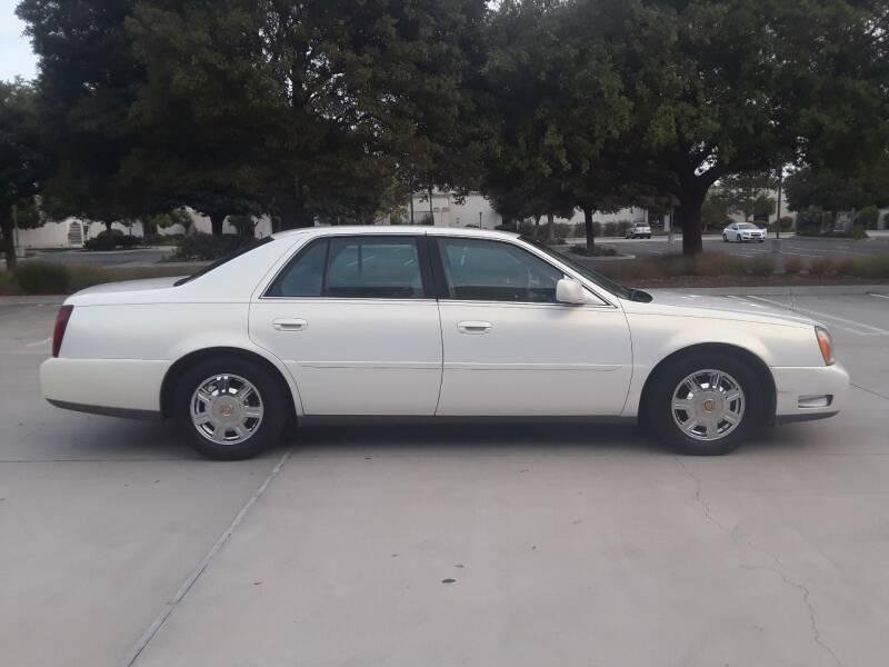 2004 Cadillac DeVille for sale at Goleta Motors in Goleta CA