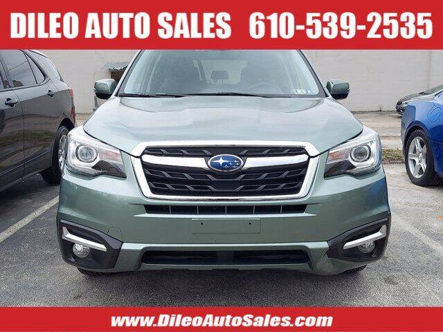 2017 Subaru Forester for sale at Dileo Auto Sales in Norristown PA