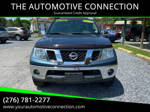 2014 Nissan Frontier for sale at THE AUTOMOTIVE CONNECTION in Atkins VA