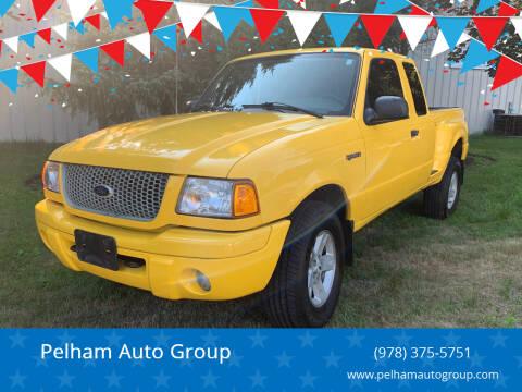 2003 Ford Ranger for sale at Pelham Auto Group in Pelham NH