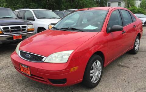 2007 Ford Focus for sale at Knowlton Motors, Inc. in Freeport IL