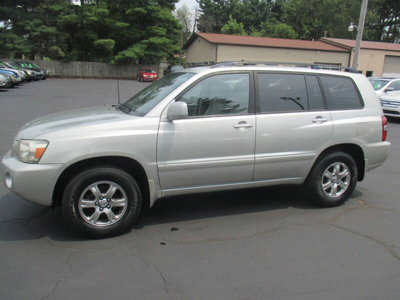 2005 Toyota Highlander for sale at Home Street Auto Sales in Mishawaka IN