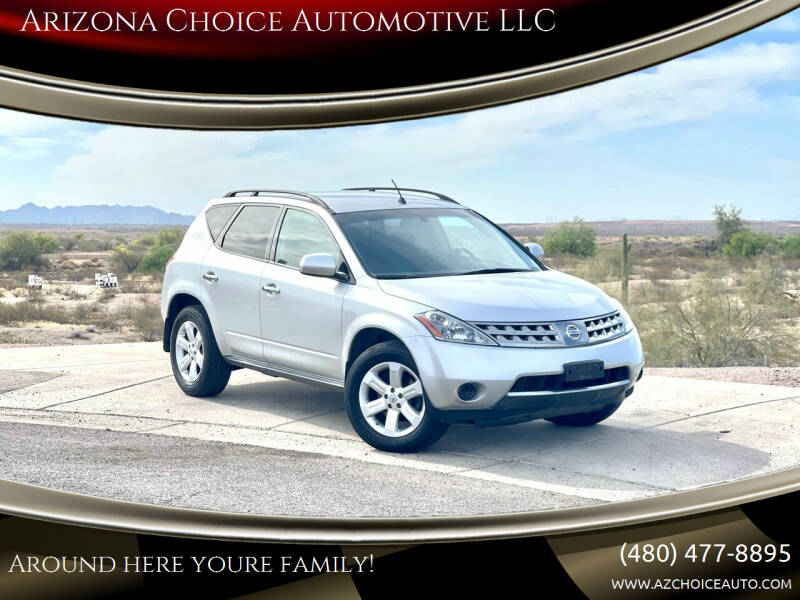 2007 Nissan Murano for sale at Arizona Choice Automotive LLC in Mesa AZ
