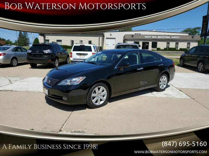 2008 Lexus ES 350 for sale at Bob Waterson Motorsports in South Elgin IL