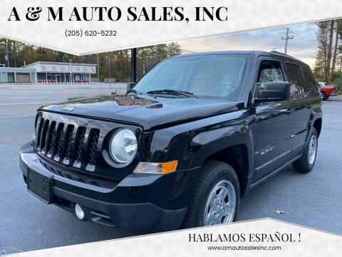 2015 Jeep Patriot for sale at A & M Auto Sales, Inc in Alabaster AL