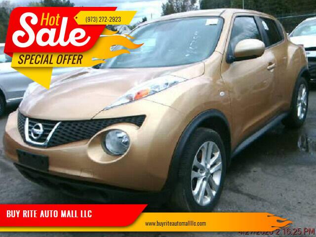 2014 Nissan JUKE for sale at BUY RITE AUTO MALL LLC in Garfield NJ