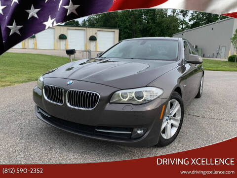 2012 BMW 5 Series for sale at Driving Xcellence in Jeffersonville IN