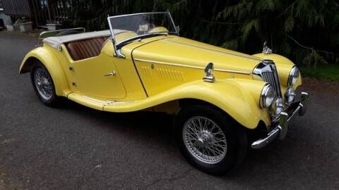 1954 MG TF for sale at Classic Car Deals in Cadillac MI