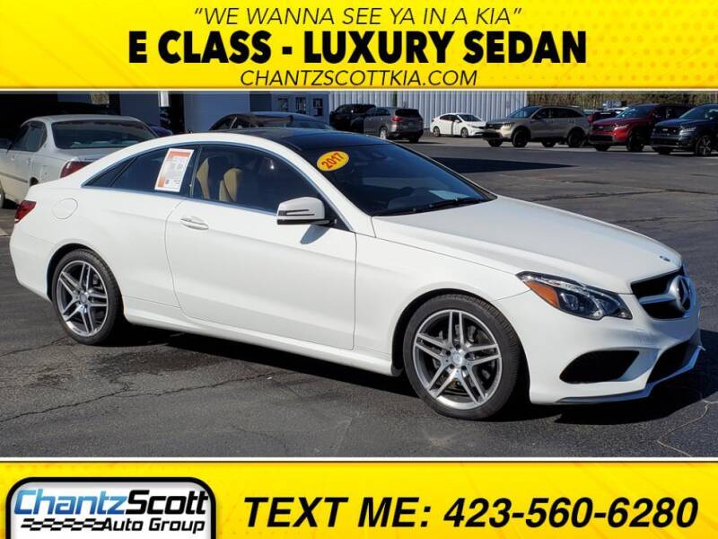 2017 Mercedes-Benz E-Class for sale at Chantz Scott Kia in Kingsport TN