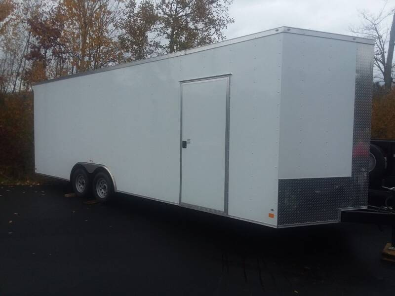 2021 Peach Cargo 8.5 X 24 Enclosed Trailer for sale at Mascoma Auto INC in Canaan NH