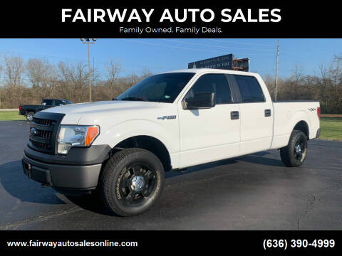 2013 Ford F-150 for sale at FAIRWAY AUTO SALES in Washington MO