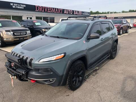 2015 Jeep Cherokee for sale at DriveSmart Auto Sales in West Chester OH