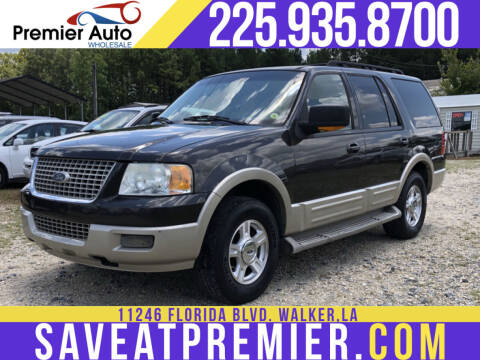2006 Ford Expedition for sale at Premier Auto Wholesale in Baton Rouge LA