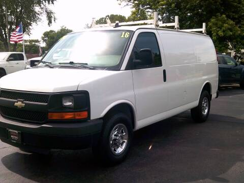 2016 Chevrolet Express Cargo for sale at Stoltz Motors in Troy OH