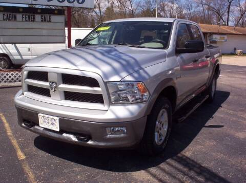 2010 Dodge Ram Pickup 1500 for sale at LAKESIDE MOTORS LLC in Houghton Lake MI