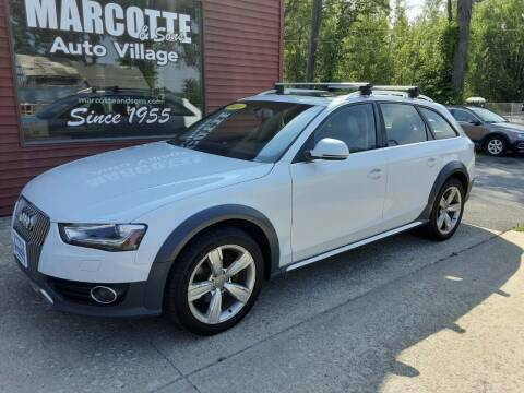 2014 Audi Allroad for sale at Marcotte & Sons Auto Village in North Ferrisburgh VT