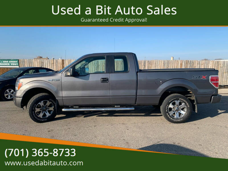 2014 Ford F-150 for sale at Used a Bit Auto Sales in Fargo ND