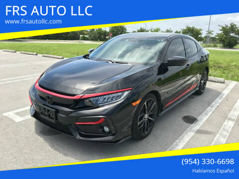 2020 Honda Civic for sale at FRS AUTO LLC in West Palm Beach FL