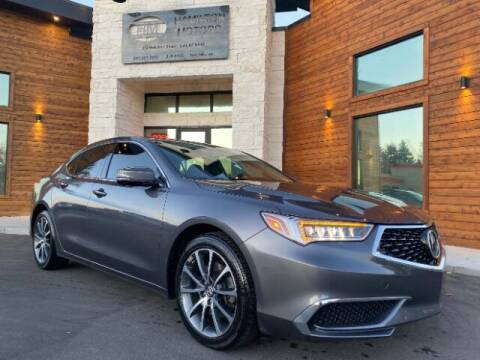 2018 Acura TLX for sale at Hamilton Motors in Lehi UT
