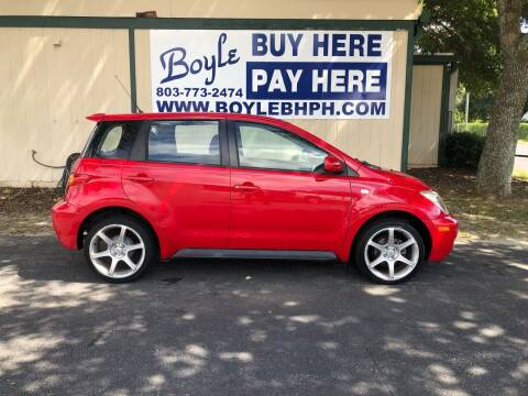 2005 Scion xA for sale at Boyle Buy Here Pay Here in Sumter SC