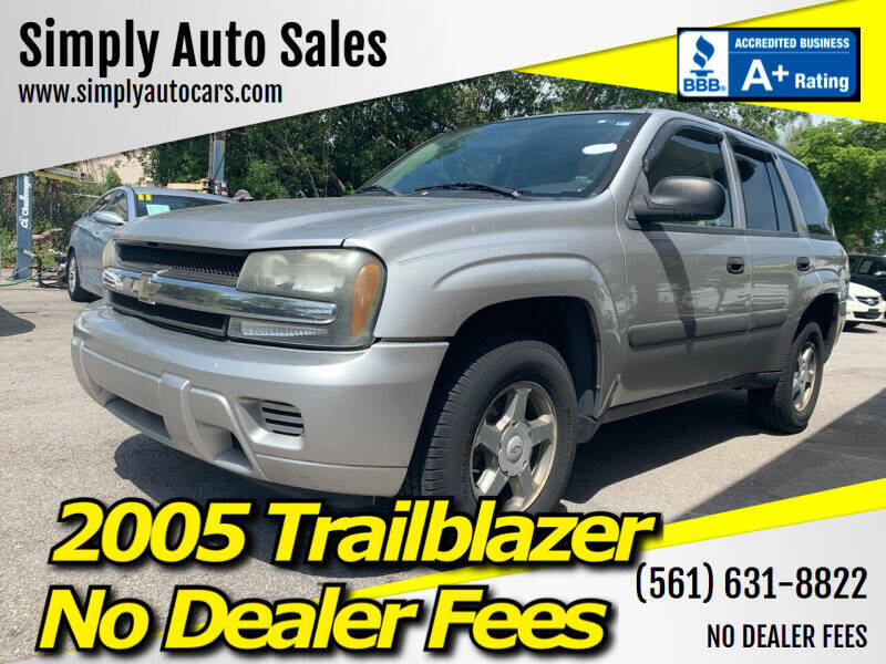 2005 Chevrolet TrailBlazer for sale at Simply Auto Sales in Palm Beach Gardens FL