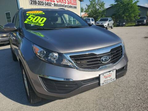 2011 Kia Sportage for sale at Reliable Cars Sales in Michigan City IN