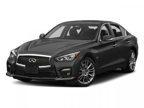2016 Infiniti Q50 for sale at SCOTT EVANS CHRYSLER DODGE in Carrollton GA
