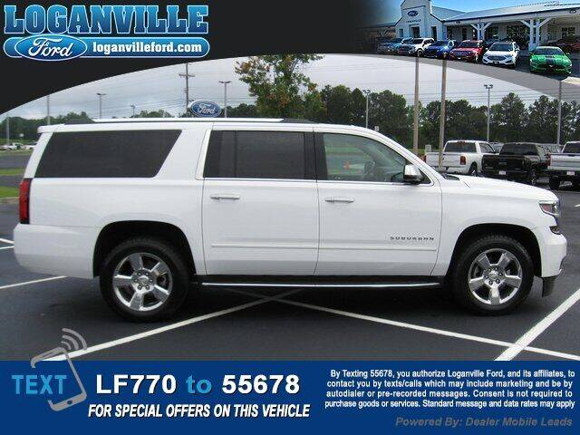 2018 Chevrolet Suburban for sale at Loganville Quick Lane and Tire Center in Loganville GA