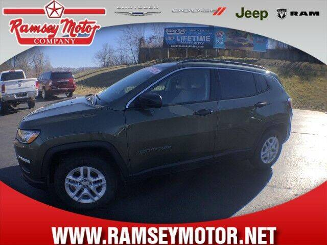 2019 Jeep Compass for sale at RAMSEY MOTOR CO in Harrison AR