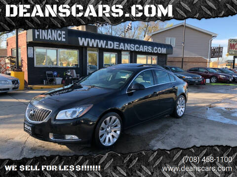 2011 Buick Regal for sale at DEANSCARS.COM in Bridgeview IL
