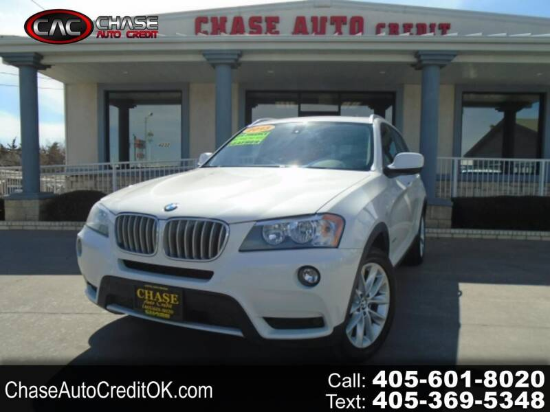 2013 BMW X3 for sale at Chase Auto Credit in Oklahoma City OK